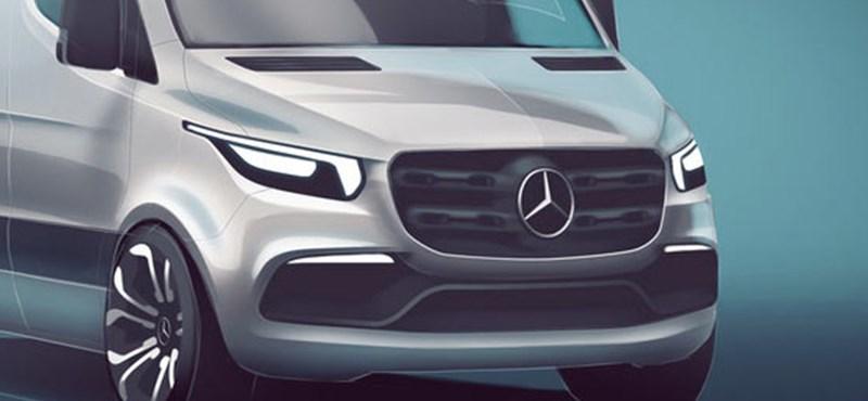 Itt a bizonyíték: létezhet izgalmas dobozos autó, a Mercedes megcsinálja