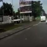 Videó: Hiába dudáltak az autósnak a Budaörsi úton, csak jött-jött szembe a forgalommal