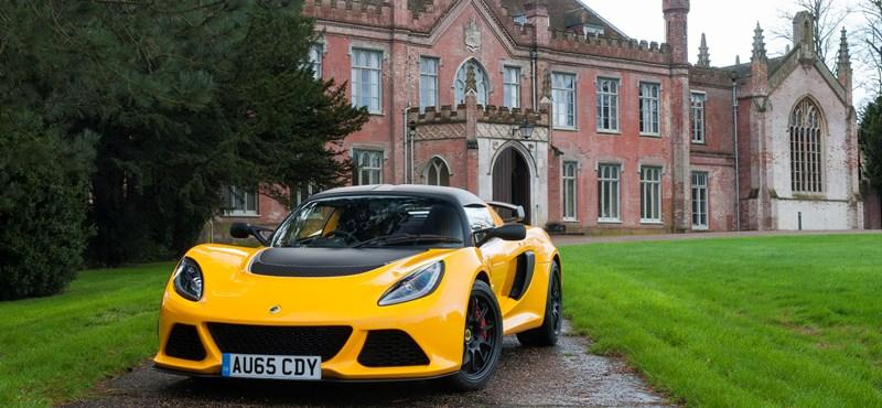 Ha van olyan, hogy szép egy manuális váltó, akkor az új Lotusé az