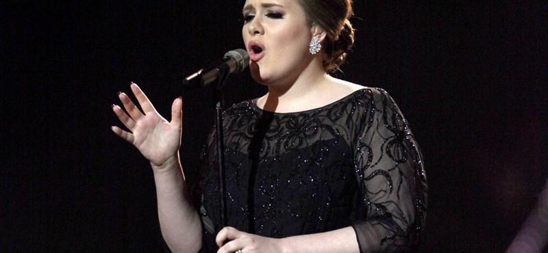 Adele hat Grammy-díjat kapott, a Foo Fighters ötöt