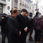 A Szinyei gimnáziumnál emlékezett az áldozatokra Áder János