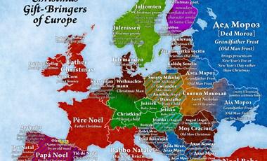Térképre rakták, hol, ki hozza a karácsonyi ajándékot
