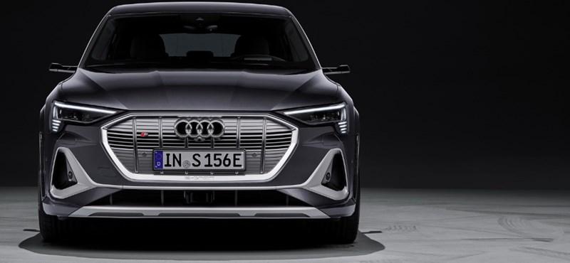 Beárazták az 500 lóerős új Audi villany SUV-t