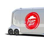 Pont olyanra sikerült a Pizza Hut önvezető autója, mint a Black Mirror életveszélyes furgonja