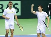 Tenisz: Balázs Attila életében először döntős egy ATP-tornán