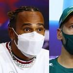 Hamilton se arrodilla, Alonso se sienta, Vettel se gira: los rostros de la Fórmula 1 se veían tan sexys hace mucho tiempo