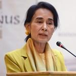 Kövérrel találkozott a Nobel-díjas Aung Szan Szú Kji