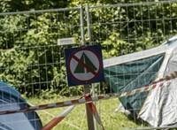 Három gyerek meghalt, amikor leégett egy oroszországi sátortábor