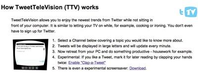 Twitter-tévé