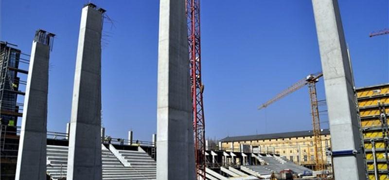 Mészáros Lőrinc cége is dolgozik az új MTK-stadionon