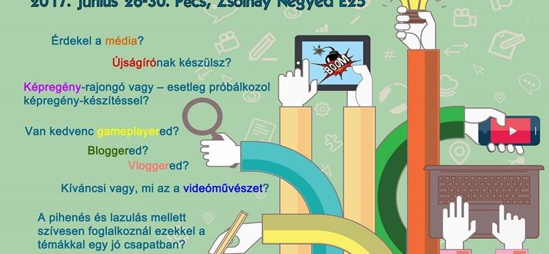 Médiatábort szerveztek a Z-generációnak Pécsen