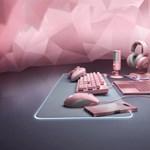 Valentin-napra laptopot, billentyűzetet, egeret is rózsaszínben adott ki a Razer