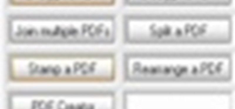 PDF fájlok darabolása és összefűzése, ingyenes szoftverekkel