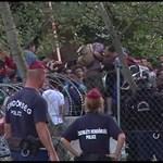 Tüntetnek a röszkei zavargásról szóló per miatt a szegedi bíróságnál