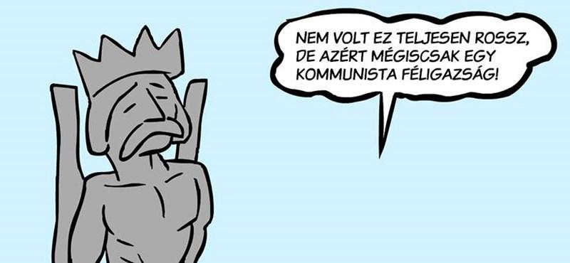 A mai Orbán-beszéd után ismét aktuális lett ez a karikatúra