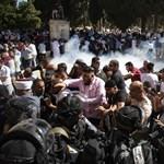 Zavargások törtek ki a jeruzsálemi Templom-hegyen