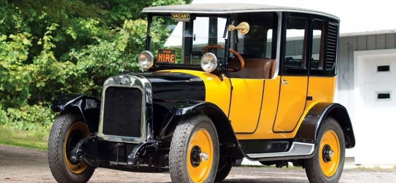Tudja, honnan származnak a sárga taxik?