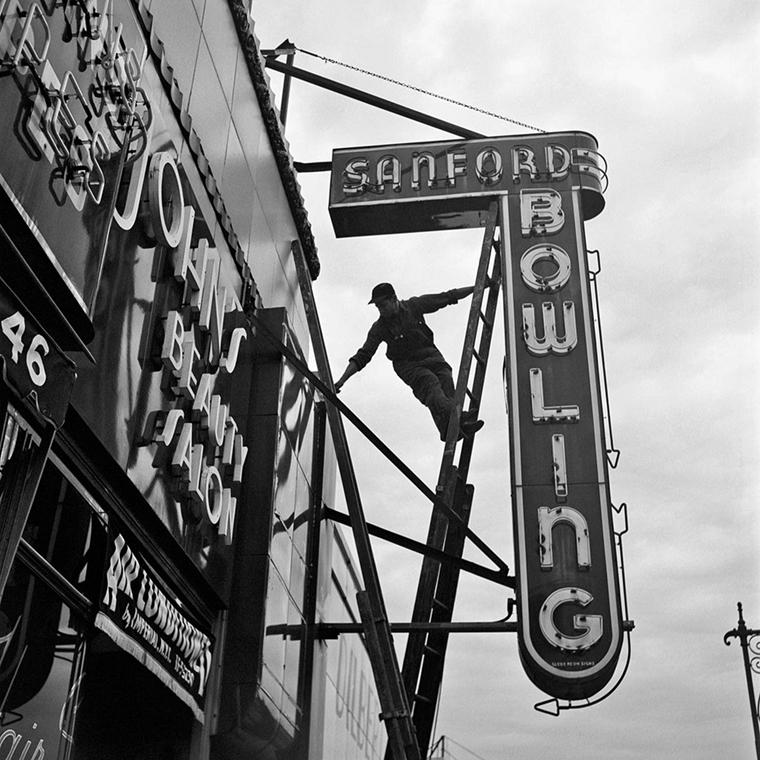 NE használd_! - Vivian Maier nagyítás - New York - 1954. szeptember 20. (zselatinos ezüst, 2014)