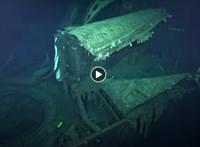 Videó: 5,5 km mélyen találtak meg egy, 2. világháborúban elsüllyesztett japán hadihajót