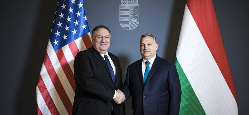 Orbán körbevitte a Várban az amerikai külügyminisztert - fotók