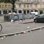 A nap fotói: elfajult a szeméthelyzet Budapest szívében