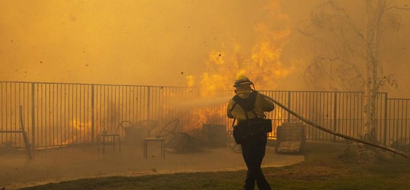 Erdőtűz Kaliforniában: Több tízezer házból evakuálták az embereket