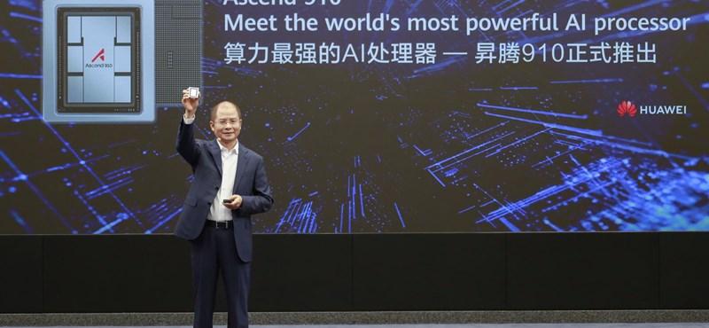 Bivalyerős chipet tett le az asztalra a Huawei, a mesterséges intelligencia veheti hasznát