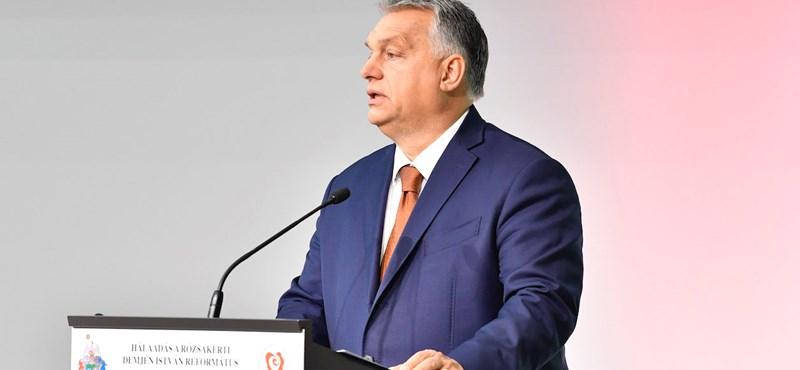 Orbán Viktor hálaadó istentiszteleten mondta el, minek kell nevelni a gyerekeket