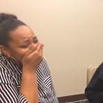 Kapott egy spéci szemüveget, életében először láthatta édesanyját a majdnem vak 12 éves fiú – videó