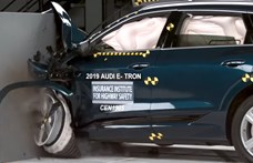 Íme a legbiztonságosabb villanyautó – videó