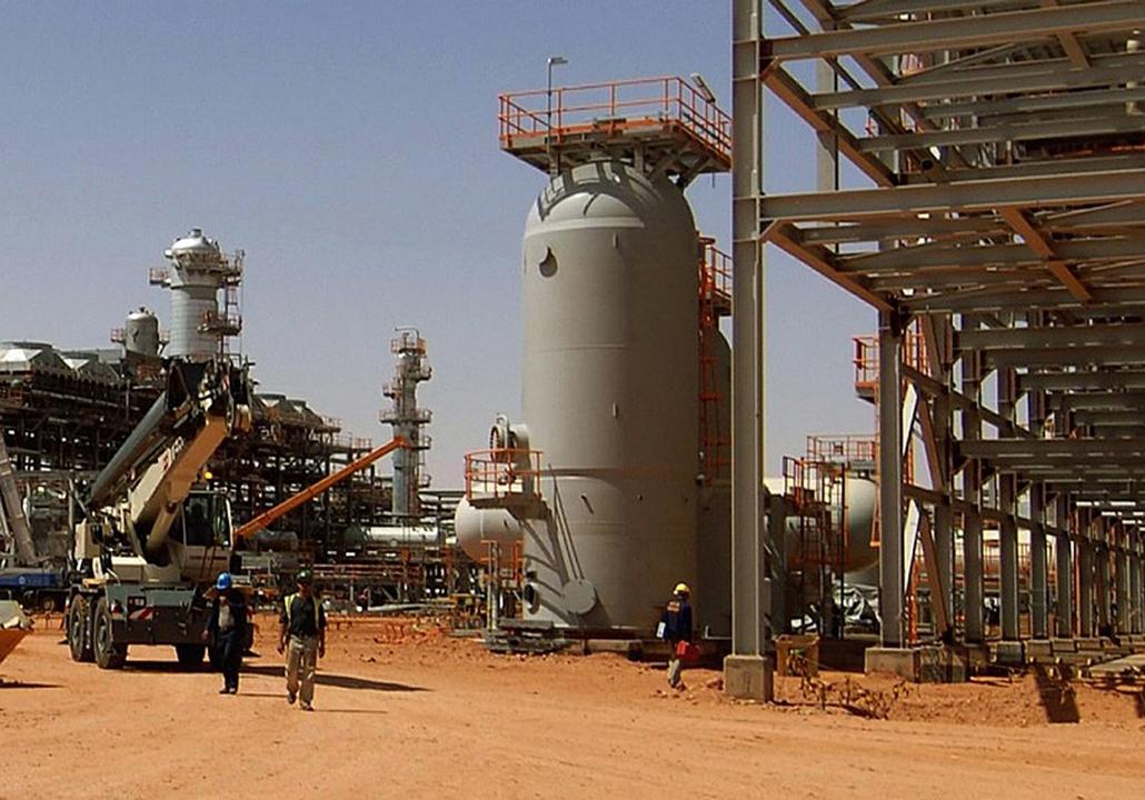 Malinagyítás afp, Mali, algéria, francia beavatkozás - amenasz, Gázkitermelő egység elfoglalása Algériában
