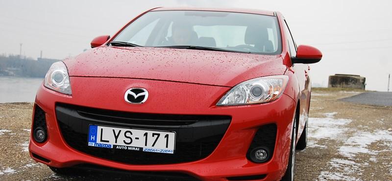 Mazda 3 1,6D teszt: tavaszi fáradtság