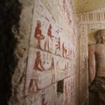 """Az """"év legszebb sírját"""" találták meg egy egyiptomi nekropoliszban – fotók"""