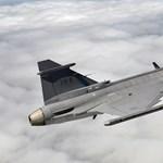 Csendben érkező német kisgép miatt riasztották a magyar Gripeneket