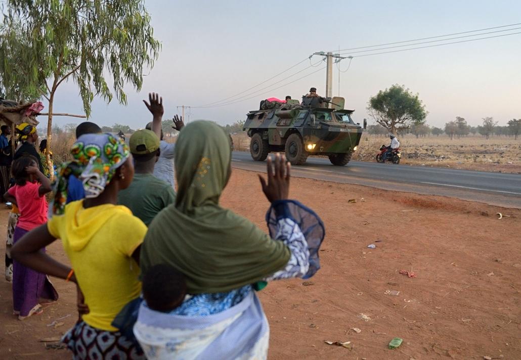 Malinagyítás afp, Mali, algéria, francia beavatkozás - észak-mali, francia katonák