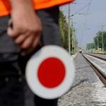 Halálra gázolt egy embert a nyírbátori vasútállomásnál a vonat
