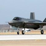 Kényszerpihenőn az amerikai F-35-ös vadászbombázók