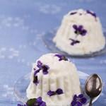 Egy igazi meglepetés: ibolyás desszert húsvétra - recept
