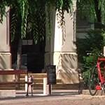 Megpróbáltunk ellopatni egy kerékpárt Pesten