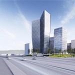 Futurisztikus irodaház Budán: írja le a véleményét!