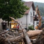 Özönvíz zúdult Dél-Németországra, hárman meghaltak