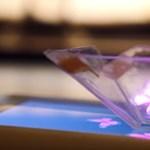 Az igazi DIY: hologramkijelző a mobilodból 10 perc alatt