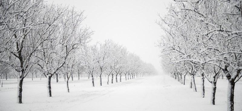 Havazás és hófúvás jön, négy megyére adták ki a figyelmeztetést