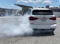 Már driftelni is lehet a BMW X3 M divatterepjáróval – videó