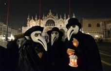 Felvonultak Velencében a nagy pestisjárványra emlékezve – miközben tombol a koronavírus