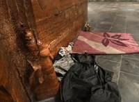 Száznál is több hajléktalan kapott már figyelmeztetést