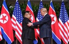 Donald Trump és Kim Dzsong Un ismét nekifut a világbékének