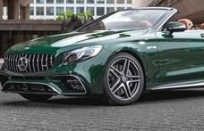 Mostantól akár az 1950-es években használt színben is lehet luxus Mercedest rendelni