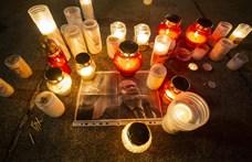 Budapesten is gyertyát gyújtottak a meggyilkolt lengyel politikus emlékére – fotók