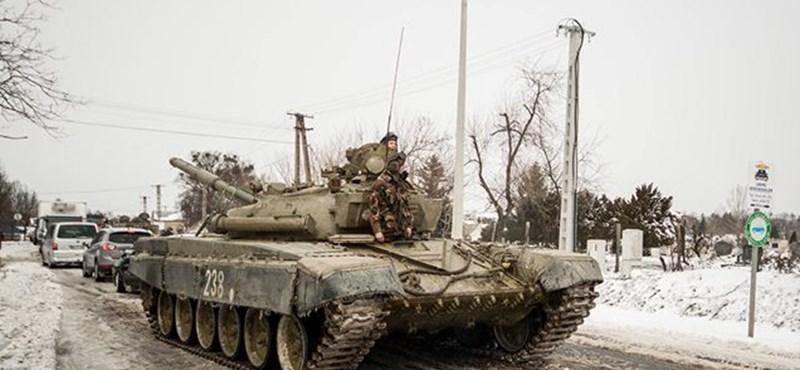 Magyar tankok Ukrajnának? Cáfol a külügy